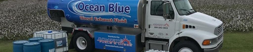 Boston Steel Ocean Blue DEF Tanker