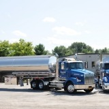 Terpening Trucking Company, Inc - Trucks at Facility