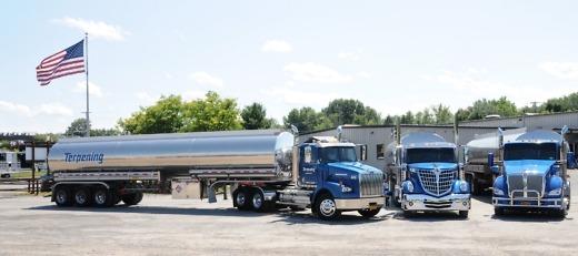 Terpening Trucking Company, Inc - Trucks at Facility