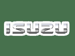 Isuzu logo chrome