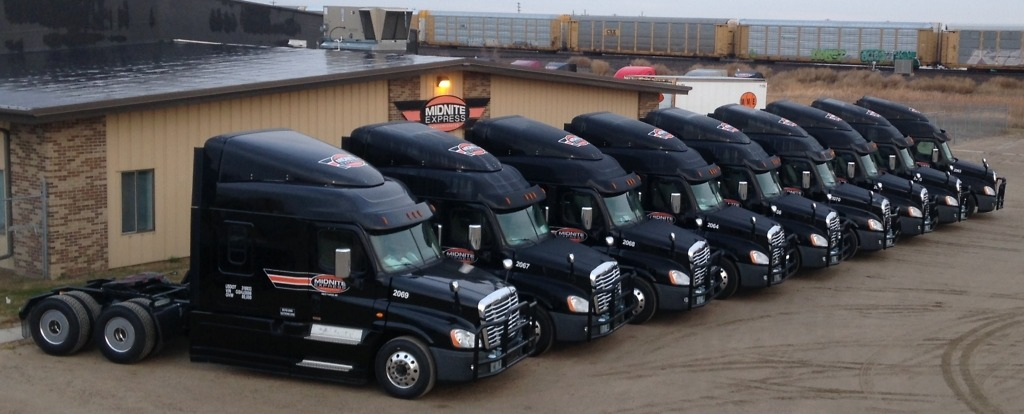 Midnite Express Inc - Truck Lineup, Investors Acquire MME Inc, Investors Red Arts Capital has partnered with Prudential Capital Partners to acquire MME Inc. and its subsidiaries Midwest Motor Express and Midnite Express
