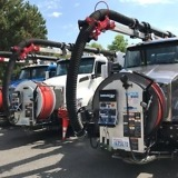 City of Kirkland Kenworth T880 Lineup, City Using Vacuum Trucks for Flooding