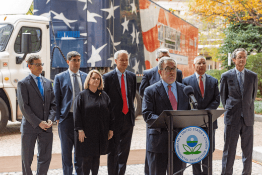 EPA Press Conference - Clean Truck Initiative, EPA Issues Emissions Pre-Rule