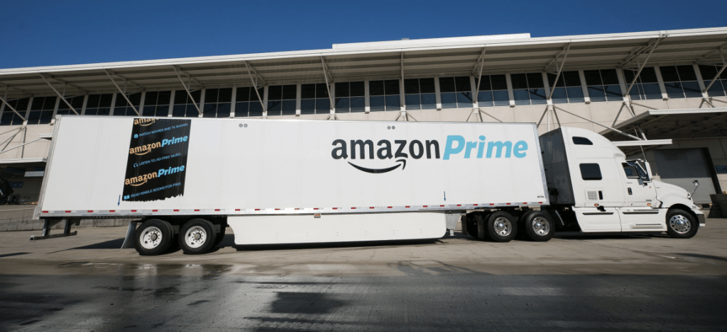 Amazon Prime Truck, Amazon Rolls Out Freight Brokerage