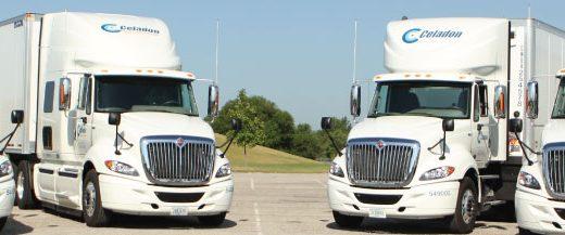 Celadon trucks lineup