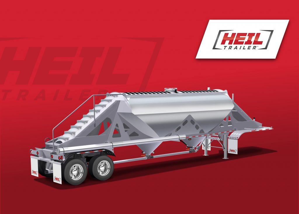 Heil Trailer, New Two-Hopper Dry Bulk Trailer