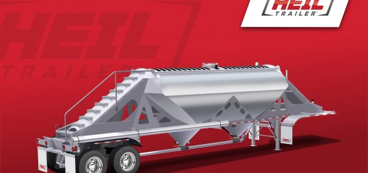 Heil Trailer, New Two-Hopper Dry Bulk Trailer