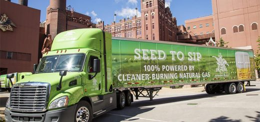 Anheuser-Busch Alt-Fuel Trucks