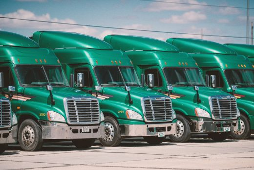 Green Trucks in Lineup