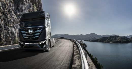 Nikola Tre, fuel cell electric cab-over truck