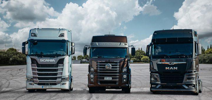 TRATON 3 Electric Trucks