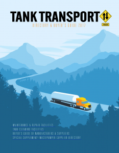 Tank Transport Trader's Directory & Buyers Guide 2017