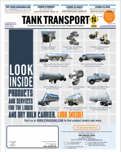Subscribe to Tank Transport Trader Today, Tank Transport Trader Subscription, Tank Transport Publication